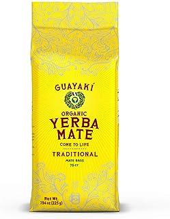 Guayaki Yerba Mate, Organic Traditional Single Serve, 7.9 Ounces (75 Tea Bags), 40mg..