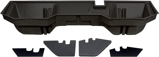 DU-HA Under Seat Storage Fits 02-17 Dodge/Ram 1500 Quad & Crew Cab and 03-17 Dodge/Ram 2500 & 3500 Quad & Crew Cab, Dk Gray, Part #30017