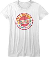 Smarties Wrapped Sugar Candy I'm A Smartie Bright Fun Sweet Juniors T-Shirt Tee