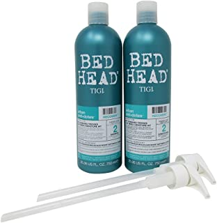 Tigi Bed Head Urban Antidotes Recovery Shampoo + Conditioner Damage Level 2 Duo Pack (2 X 25.36 Ounce)