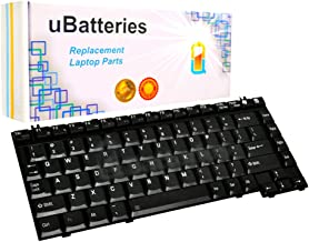 UBatteries Compatible Keyboard Replacement For Toshiba Satellite A100 A105 A10-x A130 A135 A15-x A20-x A25-x A30-x A35-x A45-x A60-x A65-x A70-x A75-x A80-x A85-x M100 M105 M110 M115 LKB-TO14B - Black