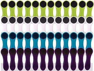 48pinces à linge à revêtement Softgrip Softtouch