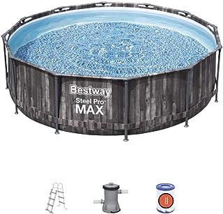 Bestway Pool Set Steel Pro Max Black 366X100Cm