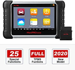 Autel MP808TS Automotive Diagnostic Scanner with Complete TPMS Functions, TPMS Installation, 25 Special Functions, Bi-Dire...