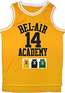 Jersey #14 The Fresh Prince Bel Air Academy Basketball Jersey S-XXXL