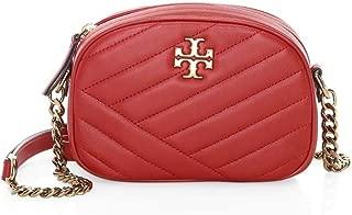 Women's Kira Chevron Camera Cross Body Handbag Red Apple