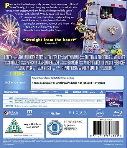 Disney & Pixar's Toy Story 4 [Blu-ray] [2019] [Region Free]