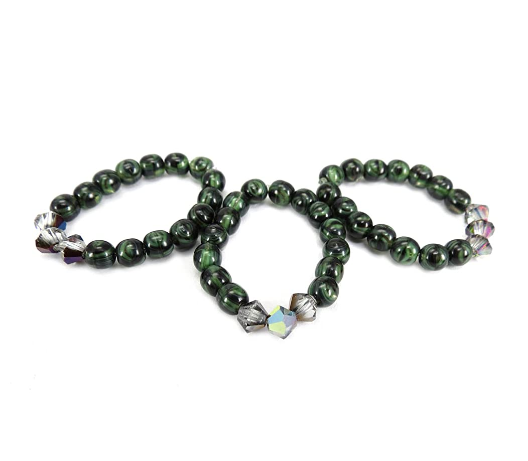 Mode Beads Coolwery Deluxe Jewelry Kit, Green Malachite