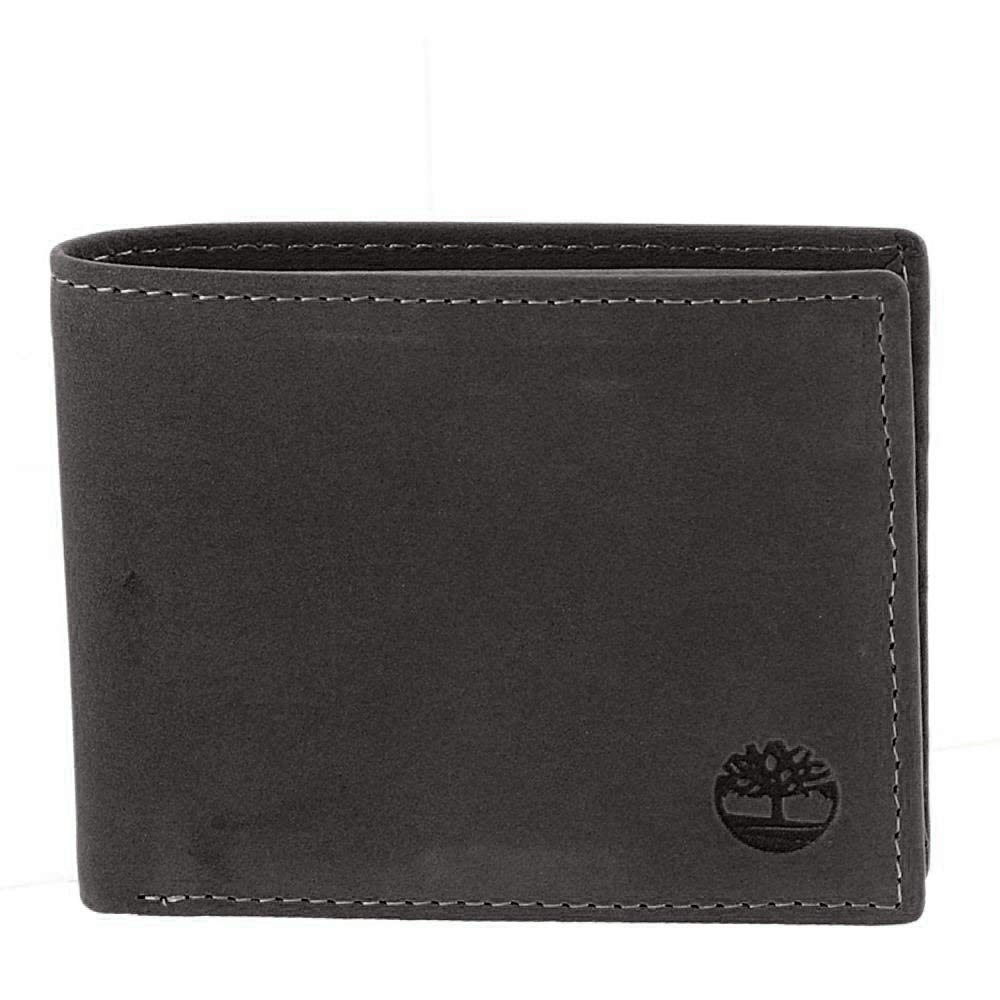 Timberland Leather Wallet Attached Pocket