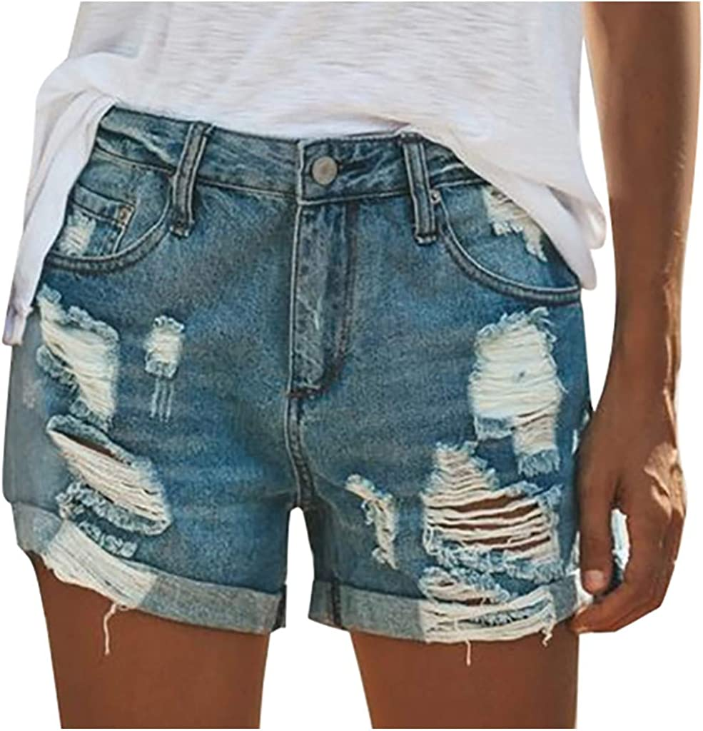 Jeans for Women Cut Off Jeans Shorts for Women Ripped Jeans for Women