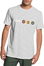 Virginile Men's Blink-182 Adult Cotton Clothes Short T Shirts Clothing