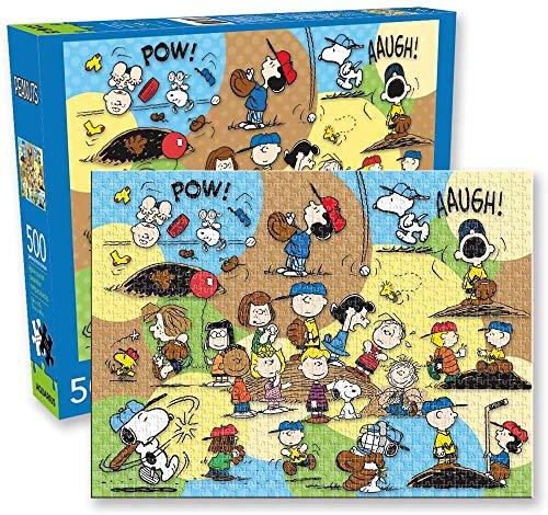 Peanuts (ピーナッツ) Baseball (ベースボール) 500 Piece Jigsaw Puzzle (500 ピース ジグソーパズル) [並行輸入品]