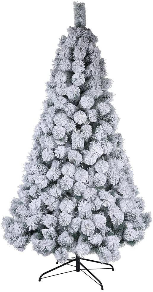 7 FT Artificial Store Christmas Tree Pencil Xmas Halloween Pine Oakland Mall