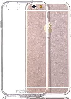 كفر ايفون 7 بلس مع قطعه معدنية مدمجه للتعليق على قواعد الجوالات زهري