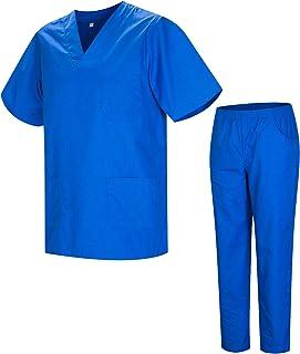 MISEMIYA - Uniforms Unisex Scrub Set – Medical Uniform with Scrub Top and Pants - Ref.8178