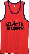 Get to The Choppa! - Arnold Quote Predator Unisex 2-Tone Tank Top