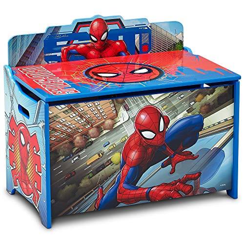 Delta Children Deluxe Toy Box, Spider-Man