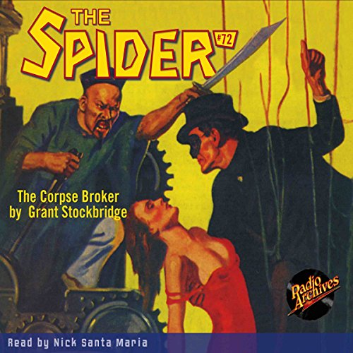 The Spider #72 audiobook cover art