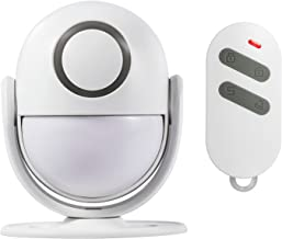 Fuers P6 Wireless PIR Motion Sensor with Alarm and Doorbell Mode Great for Businesses or Homes