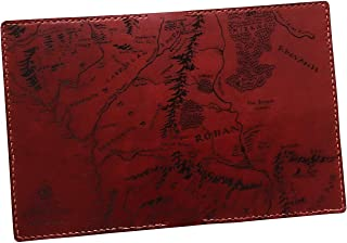The Lord of the Rings genuine leather handmade passport wallet cover holder travel accessories - 1CH