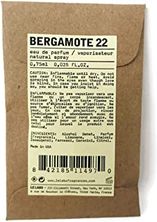 Le Labo Bergamote 22 Eau De Parfum Sample Travel Size