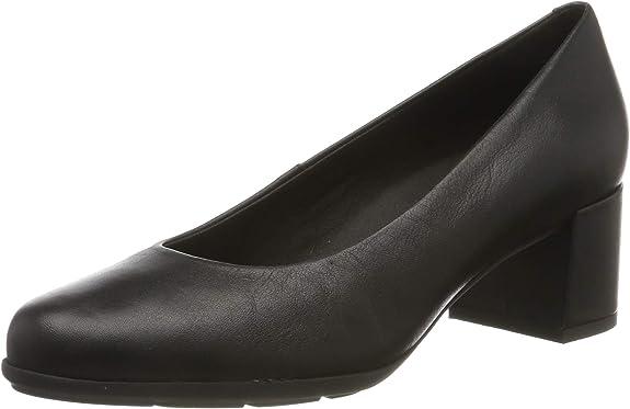 Geox D New Annya Mid A, Zapatos con Tacón Niñas