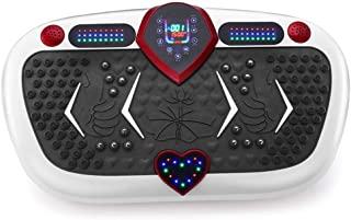 High quality Power Plate Vibration Trainer, Vibration Plate with Bluetooth Speaker 3 Modes/120 Levels, Vibration Platform ...