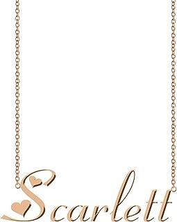 Personalized Name Necklace Custom Pendant