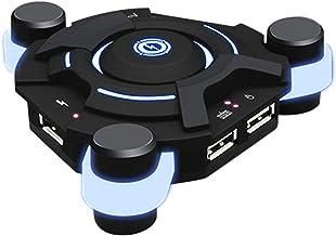 OWSOO Adaptador conversor de teclado e mouse K2 USB para controlador de jogo móvel PUBG BT compatível com Android/iOS