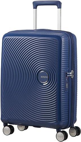 American Tourister Soundbox Spinner Equipaje de mano S (55 cm 41 L), Azul (Midnight Navy)