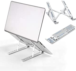 [Large size]WEC-Tech Portable Laptop Stand, Adjustable Tablet Notebook Stand for tablets, mobile phones and computers, Lap...