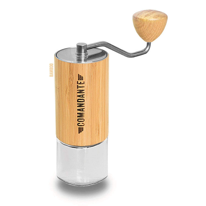 論理的取得する適合しましたComandante C40 MK3 ニトロブレード - コーヒーグラインダー Bamboo [並行輸入品]