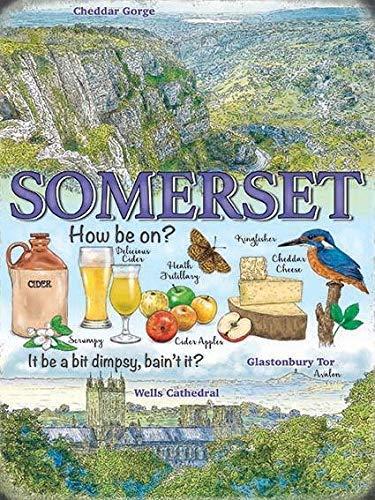 Generic Somerset Wahrzeichen Cheddar Gorge Glastonbury Cider-Parent - 40 x 30 cm