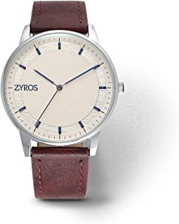 زايروس ساعة رسمية للرجال ، انالوج بعقارب - Z9019M110749