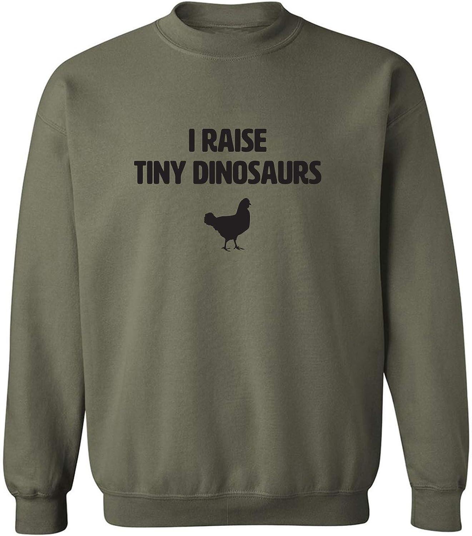 I Raise Tiny Dinosaurs Crewneck Sweatshirt
