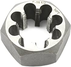 Forney 21147 Pipe Die Industrial Pro Hex Re-Threading Carbon Steel, Right Hand, 1-Inch-by-11-1/2 NPT