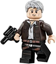 LEGO Star Wars Millennium Falcon Minifigure - Han Solo with Grey Hair (75105)