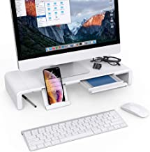 monitor riser with keyboard storage