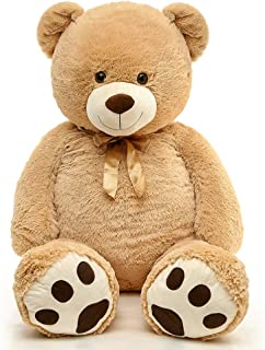 MaoGoLan Giant Teddy Bear Big Soft Stuffed Animals 51 inch ,Tan