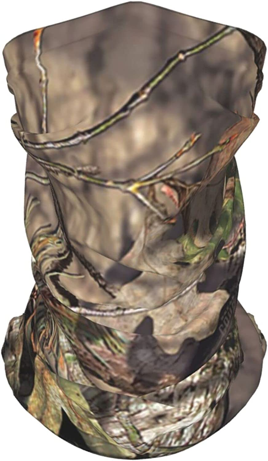 Camouflage Camo Tree3 Neck Gaiter Multipurpose Headwear Ice Silk Mask Scarf Summer Cool Breathable Outdoor Sport 4 Pcs