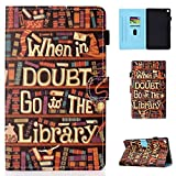 Bspring Folio Case for Kindle Fire HD 8 2018/2017/ 2016,