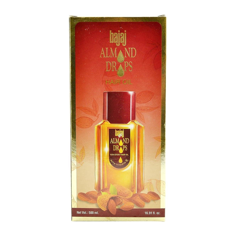 引き付ける一次仕様Bajaj Almond Drops Hair Oil -500ml(16.91 Floz.) by Subhlaxmi Grocers