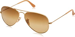 brown ray bans aviators
