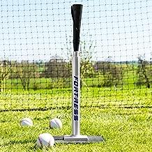 Fortress Baseball Batting Tee - Professional Softball/Baseball Hitting Tee - Adjustable Height