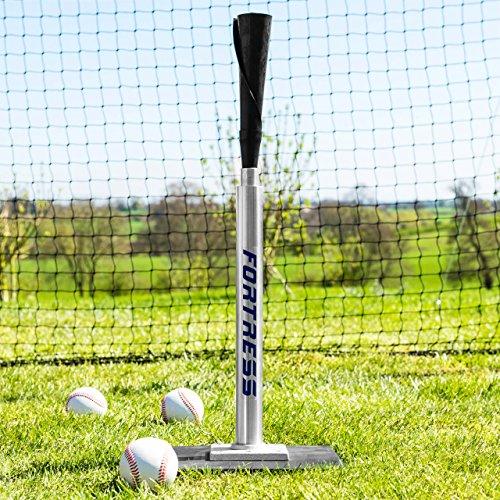Fortress Profi Batting Tee – Teleskopische Baseball Batting Tee