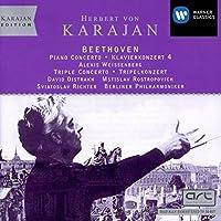 Beethoven: Piano Concerto No. 4 - (3) cadenzas / Triple Concerto, Op.56 (Karajan Edition)