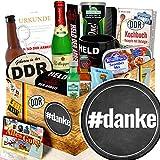 danke / Vielen Dank Geschenk / DDR Männerbox DDR