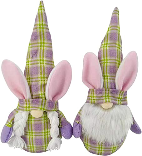 high quality Gnome Plush Doll Set Gnome Plush Doll Ornaments Mr and outlet sale Mrs Easter Bunny 2021 Gnome Figurine with Ear Nordic Plush Doll Gnome Ornaments Christmas Decorations Home Decor 9.8IN outlet online sale