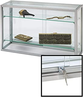 SSWBasics Countertop Display Case - Upright Glass - 18