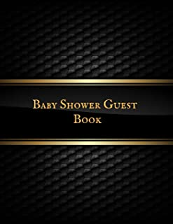 Baby Shower Guest Book: Baby Shower Guest Book Sign In/Guest Registry with Gift Log